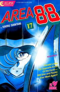Cover Thumbnail for Area 88 (Eclipse; Viz, 1987 series) #17