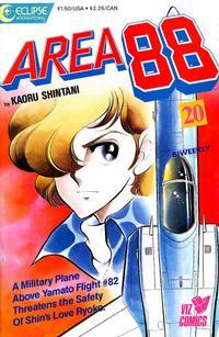 Cover for Area 88 (Eclipse; Viz, 1987 series) #20