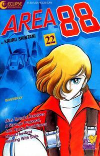 Cover Thumbnail for Area 88 (Eclipse; Viz, 1987 series) #22