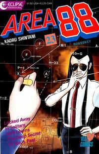 Cover Thumbnail for Area 88 (Eclipse; Viz, 1987 series) #23