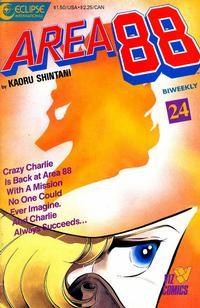 Cover Thumbnail for Area 88 (Eclipse; Viz, 1987 series) #24