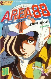 Cover Thumbnail for Area 88 (Eclipse; Viz, 1987 series) #30