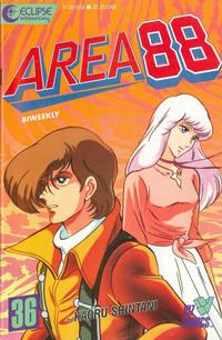 Cover Thumbnail for Area 88 (Eclipse; Viz, 1987 series) #36