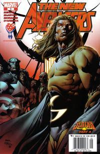 Cover Thumbnail for New Avengers (Marvel, 2005 series) #9 [Newsstand]