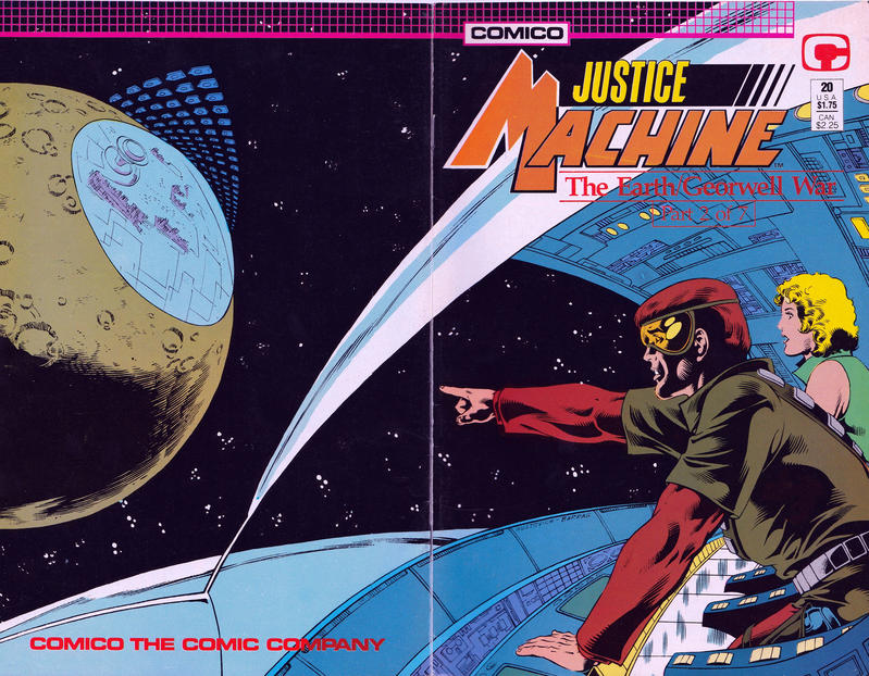 Cover for Justice Machine (Comico, 1987 series) #20