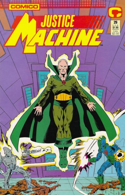 Cover for Justice Machine (Comico, 1987 series) #29