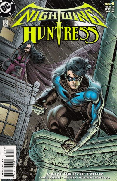 Cover for Nightwing and Huntress (DC, 1998 series) #1