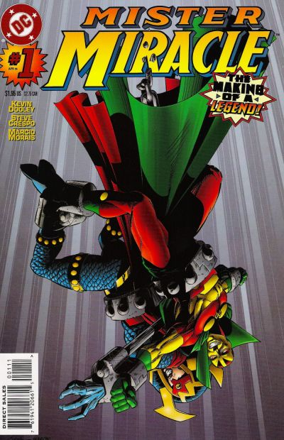 Cover for Mister Miracle (DC, 1996 series) #1