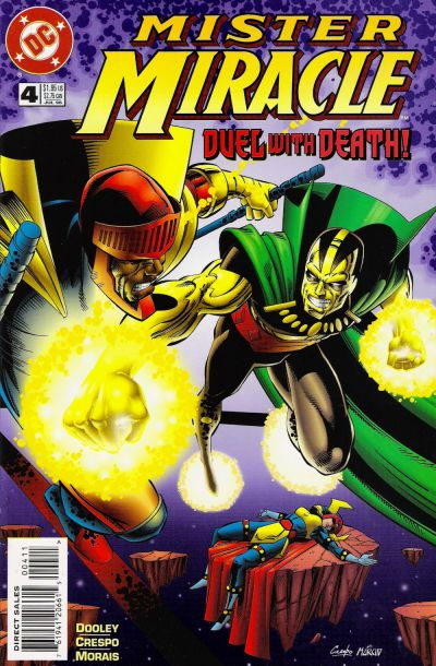 Cover for Mister Miracle (DC, 1996 series) #4