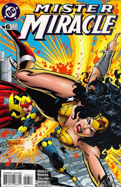 Cover for Mister Miracle (DC, 1996 series) #6