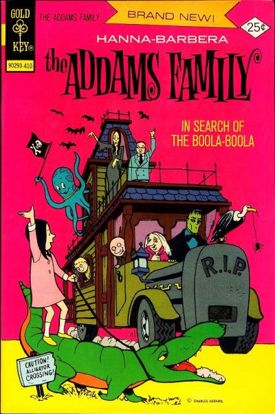 Cover for Hanna-Barbera The Addams Family (Western, 1974 series) #1