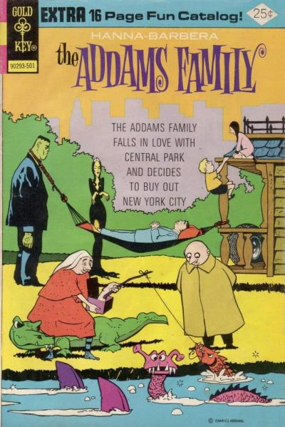Cover for Hanna-Barbera The Addams Family (Western, 1974 series) #2