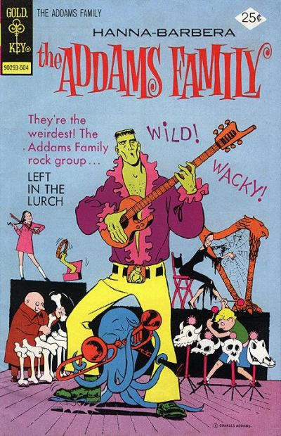 Cover for Hanna-Barbera The Addams Family (Western, 1974 series) #3