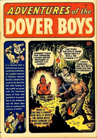 Cover for Adventures of the Dover Boys (Archie, 1950 series) #1