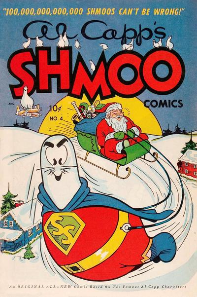 Cover for Al Capp's Shmoo Comics (Toby, 1949 series) #4