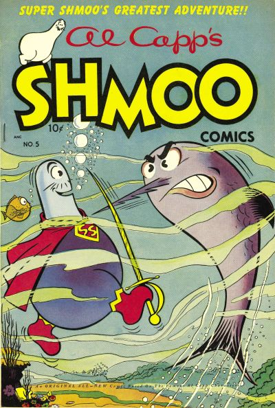 Cover for Al Capp's Shmoo Comics (Toby, 1949 series) #5