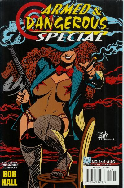 Cover for Armed and Dangerous Special (Acclaim / Valiant, 1996 series) #1 [5]