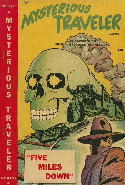 Cover for Mysterious Traveler Comics (Trans-World Publications, 1948 series) #1