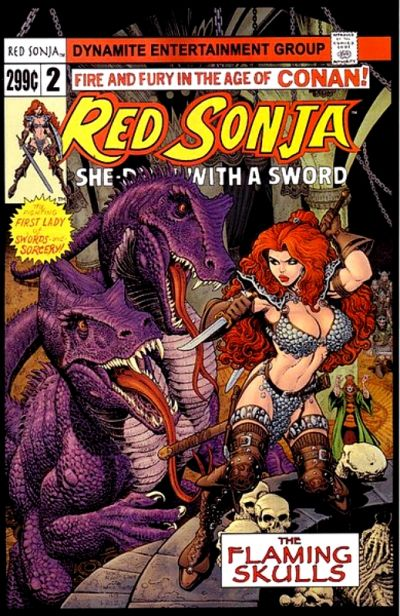 Cover for Red Sonja (Dynamite Entertainment, 2005 series) #2 [J.G. Jones Cover]