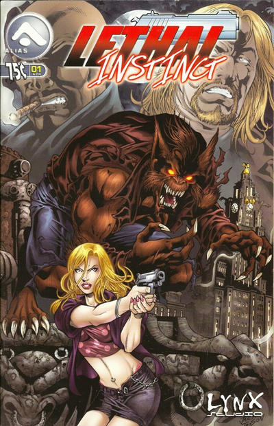 Cover for Lethal Instinct (Alias, 2005 series) #1