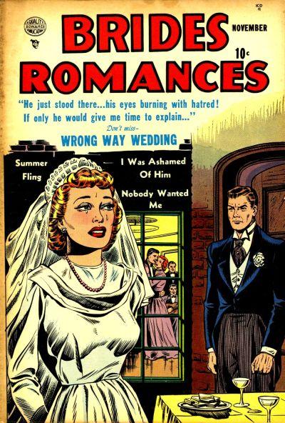 Cover for Brides Romances (Quality Comics, 1953 series) #1