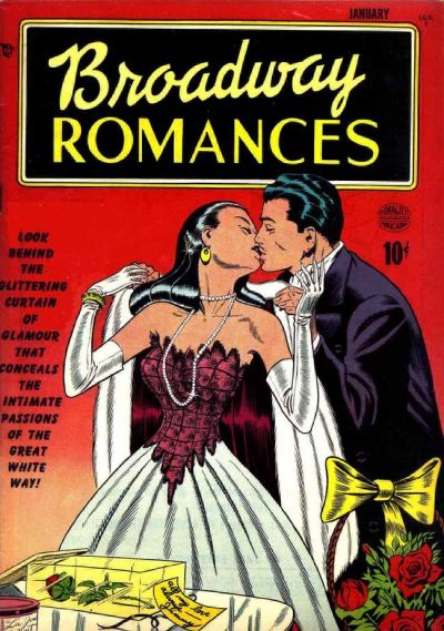 Cover for Broadway Romances (Quality Comics, 1950 series) #1