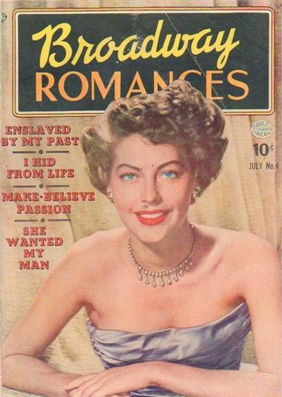 Cover for Broadway Romances (Quality Comics, 1950 series) #4