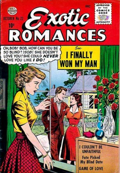 Cover for Exotic Romances (Quality Comics, 1955 series) #22