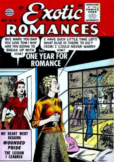 Cover for Exotic Romances (Quality Comics, 1955 series) #29