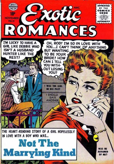 Cover for Exotic Romances (Quality Comics, 1955 series) #31