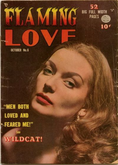 Cover for Flaming Love (Quality Comics, 1949 series) #6