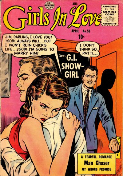 Cover for Girls in Love (Quality Comics, 1955 series) #53