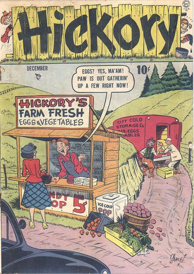Cover for Hickory (Quality Comics, 1949 series) #2