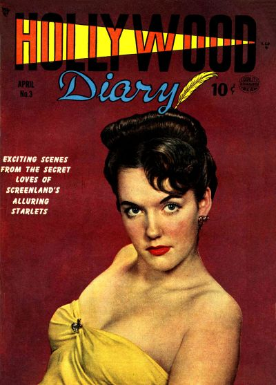 Cover for Hollywood Diary (Quality Comics, 1949 series) #3
