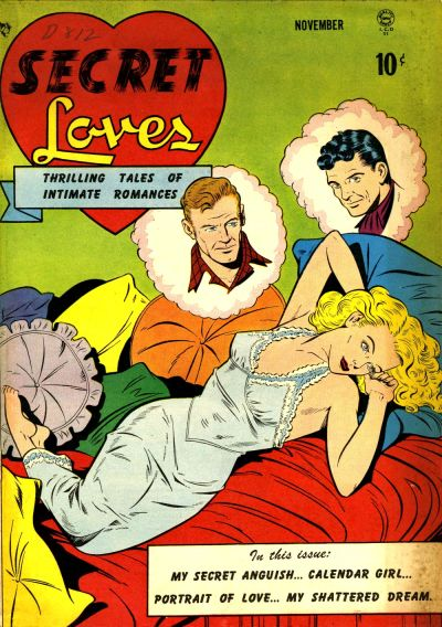 Cover for Secret Loves (Quality Comics, 1949 series) #1