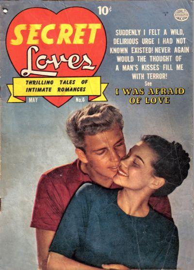 Cover for Secret Loves (Quality Comics, 1949 series) #4