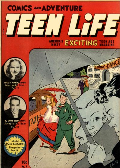 Cover for Teen Life Comics and Adventure (New Age Publishers, Inc., 1945 series) #4