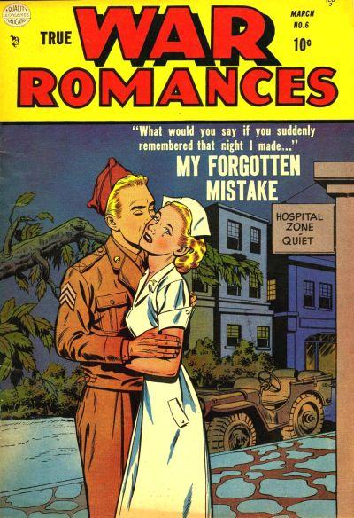 Cover for True War Romances (Quality Comics, 1952 series) #6