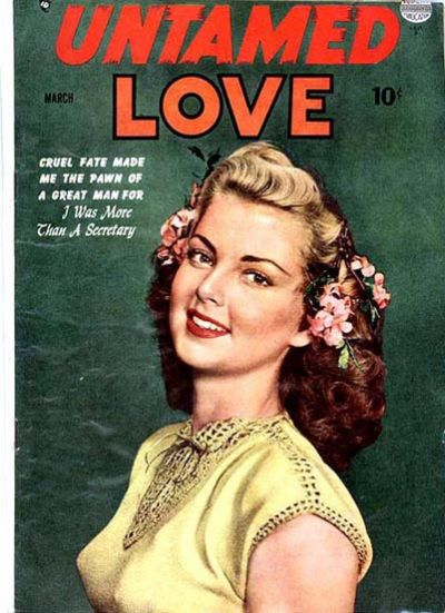 Cover for Untamed Love (Quality Comics, 1950 series) #2