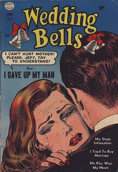 Cover for Wedding Bells (Quality Comics, 1954 series) #3