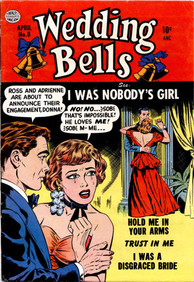 Cover for Wedding Bells (Quality Comics, 1954 series) #8