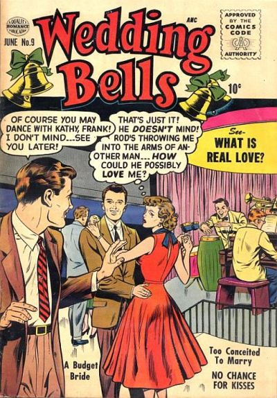 Cover for Wedding Bells (Quality Comics, 1954 series) #9