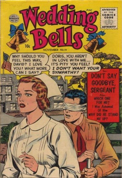 Cover for Wedding Bells (Quality Comics, 1954 series) #19