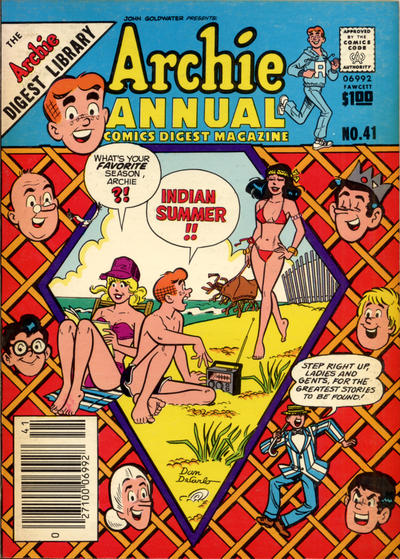 Cover for Archie Annual Digest (Archie, 1975 series) #41