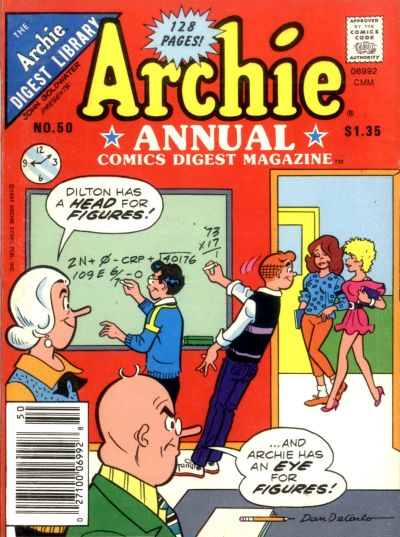 Cover for Archie Annual Digest (Archie, 1975 series) #50
