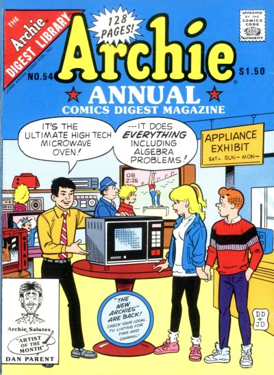 Cover for Archie Annual Digest (Archie, 1975 series) #54