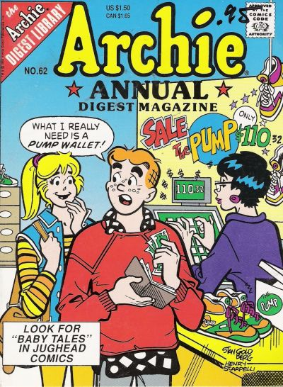 Cover for Archie Annual Digest (Archie, 1975 series) #62 [Direct]