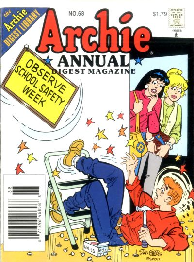 Cover for Archie Annual Digest (Archie, 1975 series) #68
