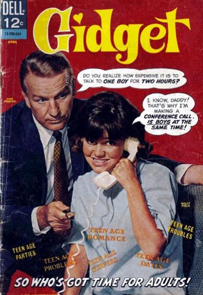 Cover for Gidget (Dell, 1966 series) #1