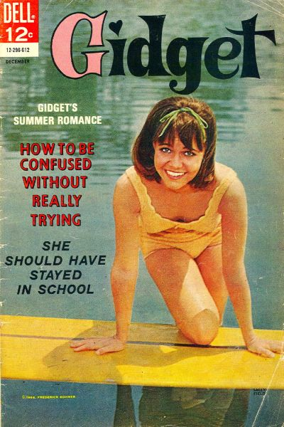 Cover for Gidget (Dell, 1966 series) #2